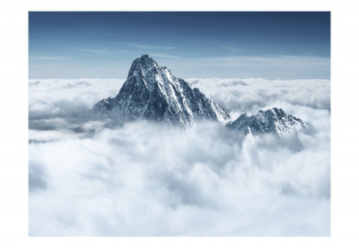 Fototapet - Mountain in the clouds3