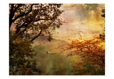Fototapet - Painted autumn3
