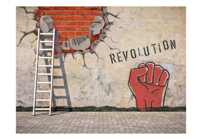 Fototapet - The invisible hand of the revolution [3]