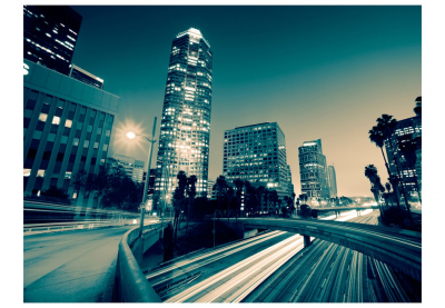 Fototapet - The streets of Los Angeles3