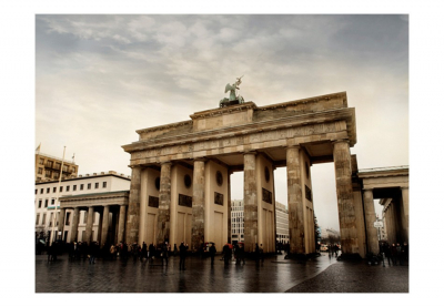 Fototapet - Tourists near to the Brandenburg Gate3