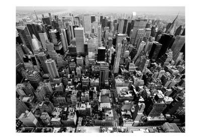 Fototapet - USA, New York: black and white3