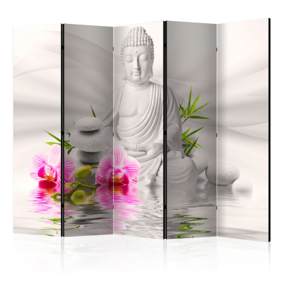 Paravan - Buddha and Orchids II [Room Dividers] [0]
