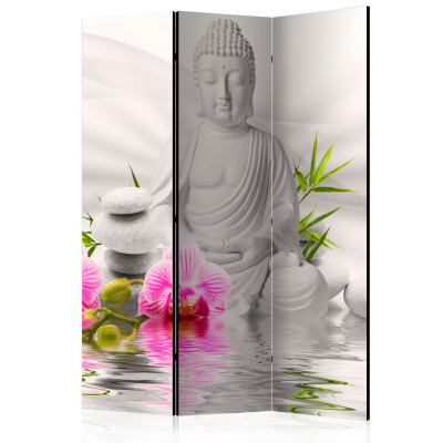 Paravan - Buddha and Orchids [Room Dividers] [0]