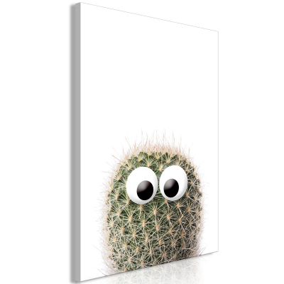 Tablou - Cactus With Eyes (1 Part) Vertical0