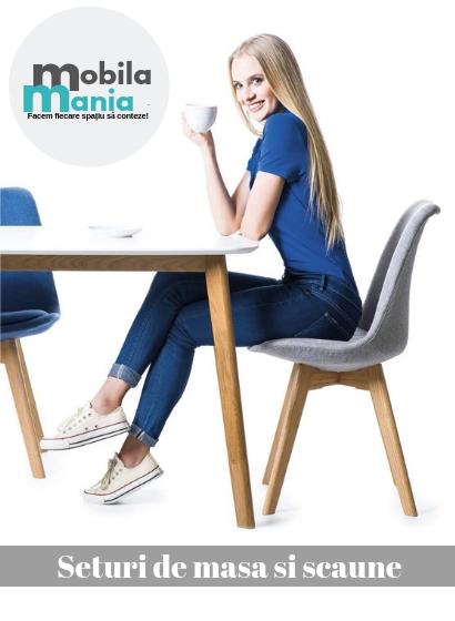 Colectia MobilaMania.ro seturi masa si scaune