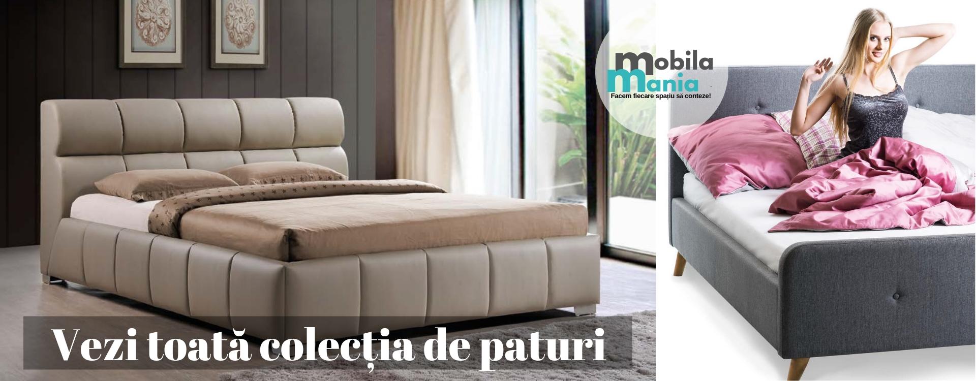 Colectia MobilaMania.ro paturi