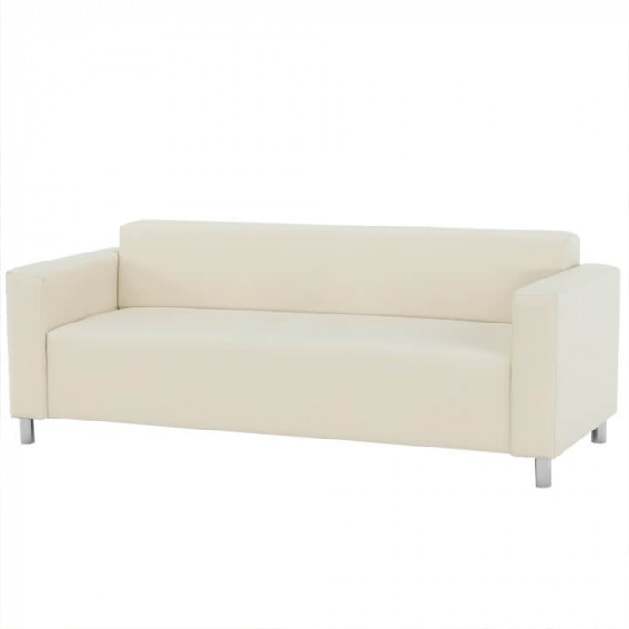 Canapea 3 locuri imitatie piele HOMKER [0]