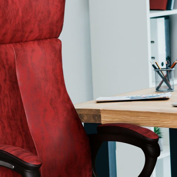 Scaun de birou rotativ tapitat MERSIN [4]