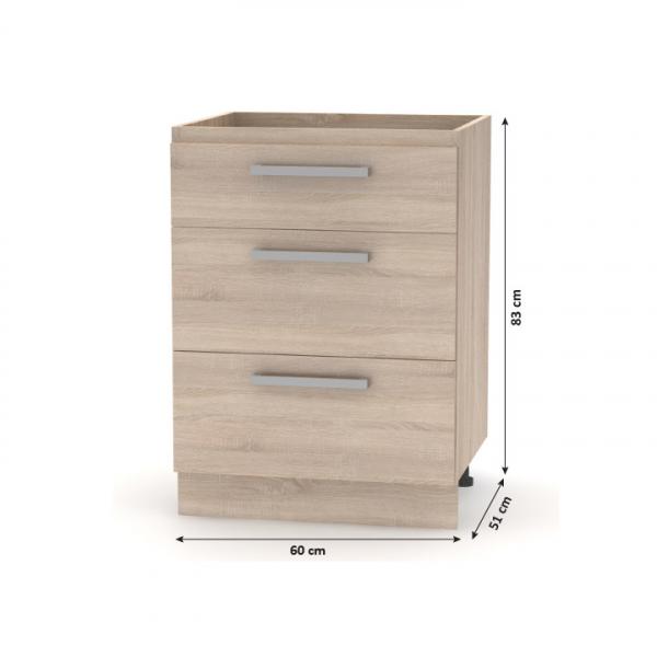 Ansamblu mobilier bucatarie NOVA PLUS 8