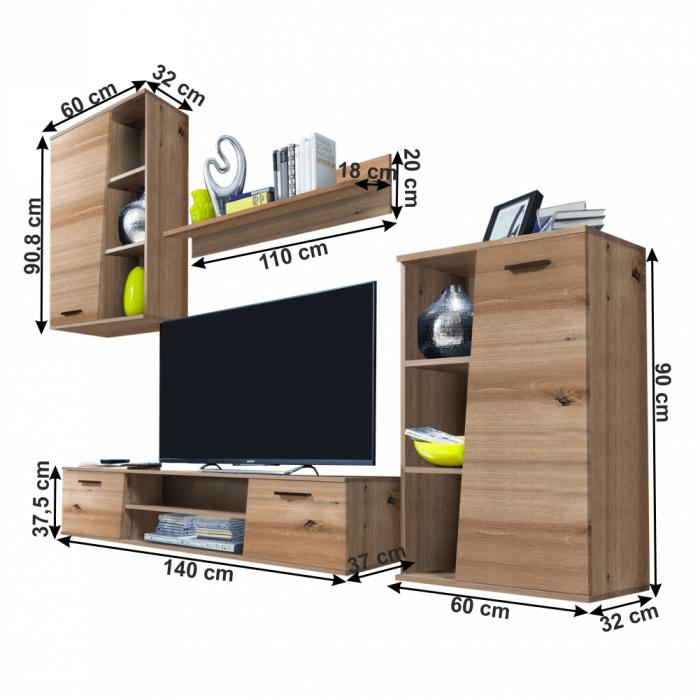 Ansamblu mobilier living VIVIEN 1