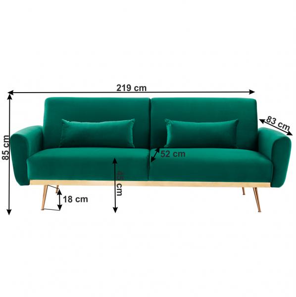 Canapea extensibila FASTA 3