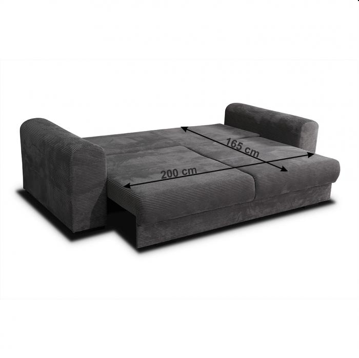 Canapea extensibila cu spatiu depozitare GILEN BIG SOFA [10]