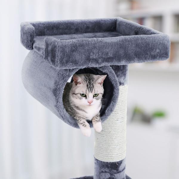 Ansamblu de joaca cu scara pentru pisici PCT63G 2