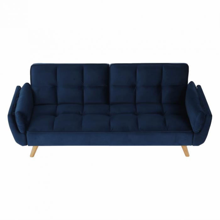 Canapea velvet extensibila FILEMA [2]