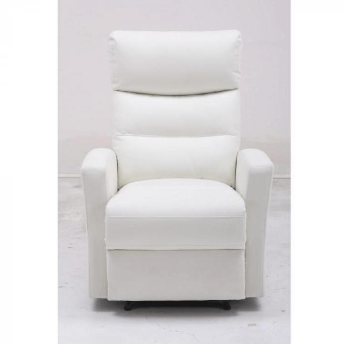 Fotoliu relaxare recliner imitatie piele SILAS 3