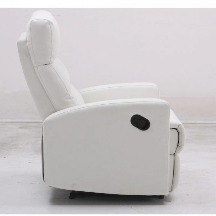 Fotoliu relaxare recliner imitatie piele SILAS 4