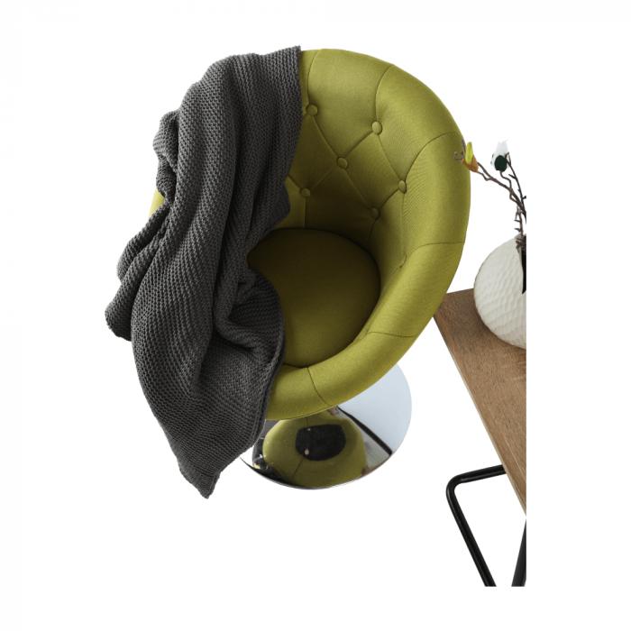 Fotoliu rotativ material textil GULEN 8