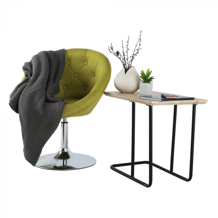 Fotoliu rotativ material textil GULEN 6