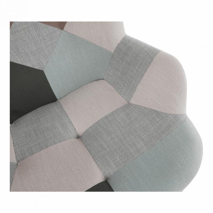 Fotoliu balansoar patchwork GERON 16