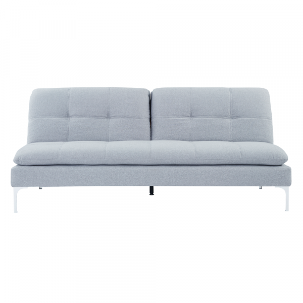 Canapea extensibila gri deschis HERMA 0