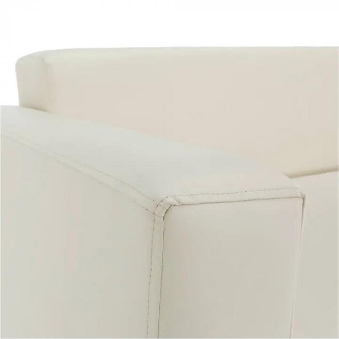 Canapea 2 locuri imitatie piele HOMKER [9]