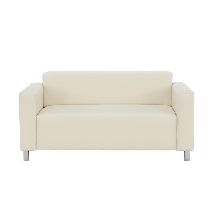 Canapea 2 locuri imitatie piele HOMKER [4]
