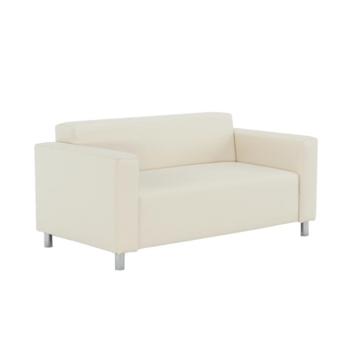 Canapea 2 locuri imitatie piele HOMKER [5]