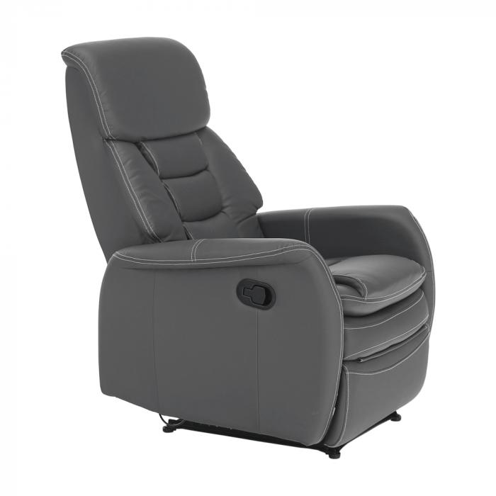 Fotoliu relaxare recliner imitatie piele KOMFY [15]