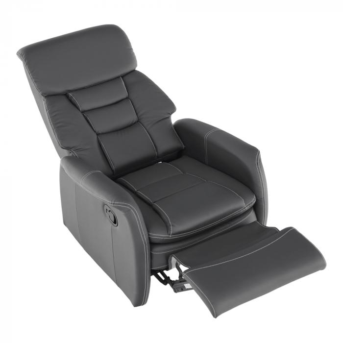 Fotoliu relaxare recliner imitatie piele KOMFY [17]