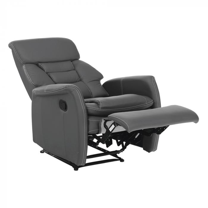 Fotoliu relaxare recliner imitatie piele KOMFY [18]