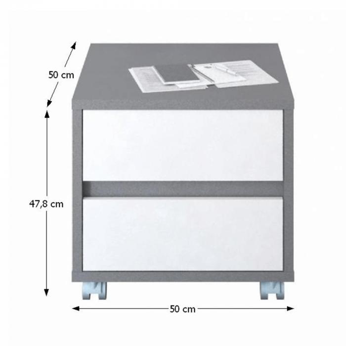 Dulap rollbox pentru birou MARSIE M7 [1]