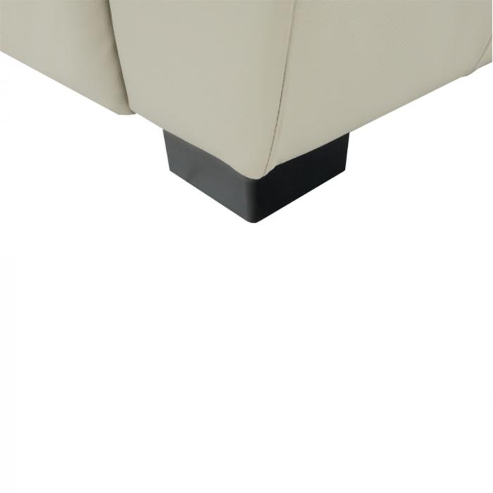 Fotoliu tapitat piele naturala DANILO 10