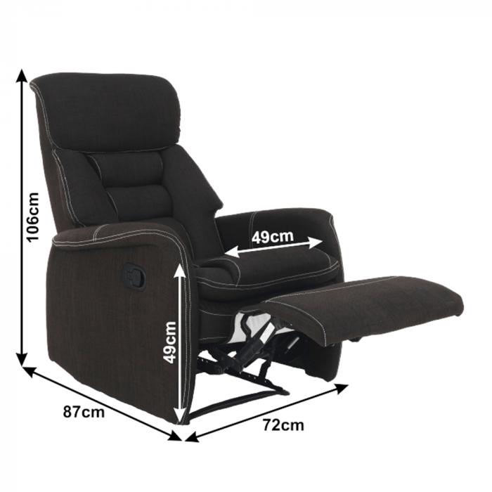 Fotoliu relaxare recliner KOMFY 1