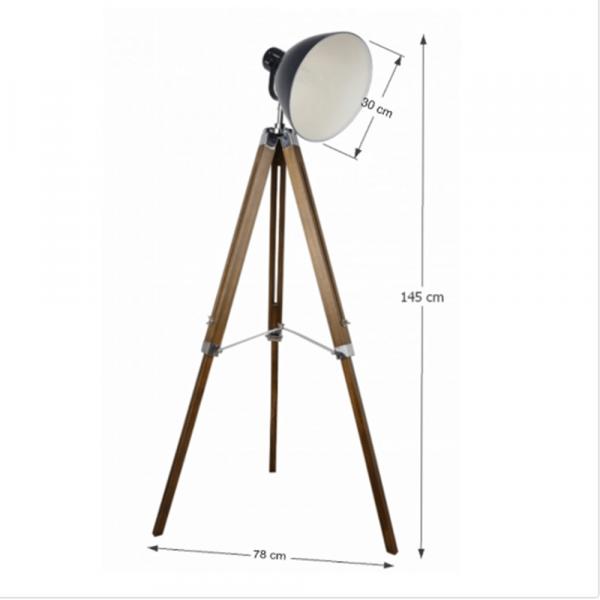 Lampă de podea CINDA TYP 27 YFY804-A 1