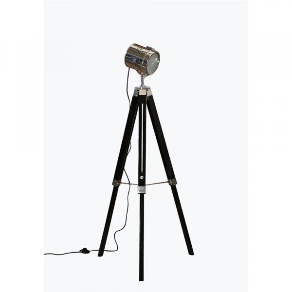 Lampă de podea lemn metal CINDA TYP 26 YF819-B [1]