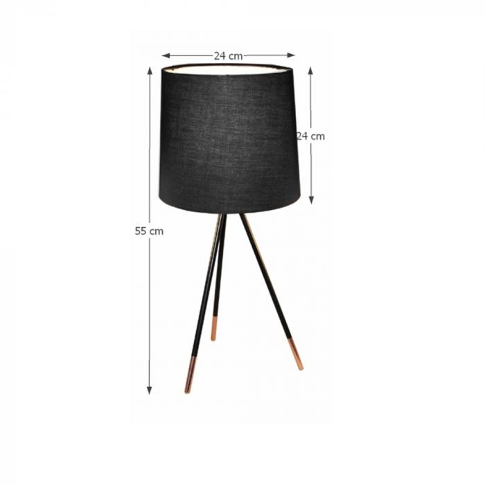 Lampa de masa cu trei picioare JADE TYP 4 1