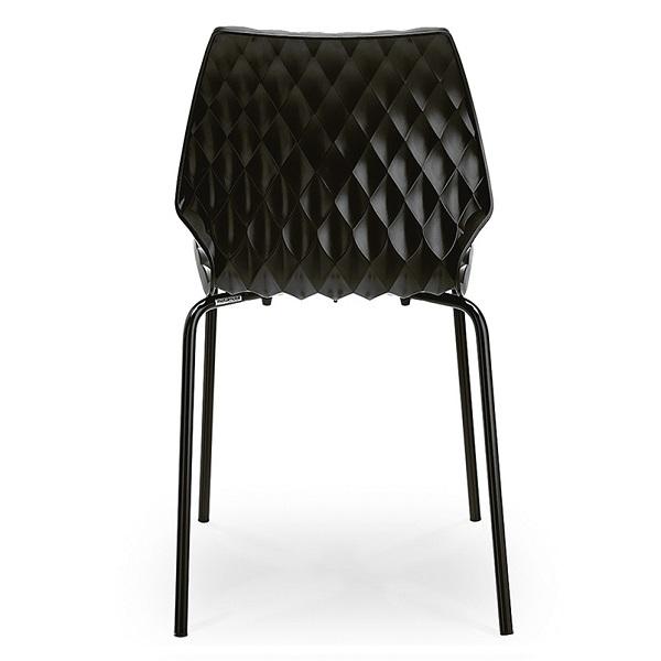 Set terasa outdoor masa BOSTON WASHED ELM 70x70 cu scaune UNI 550 4