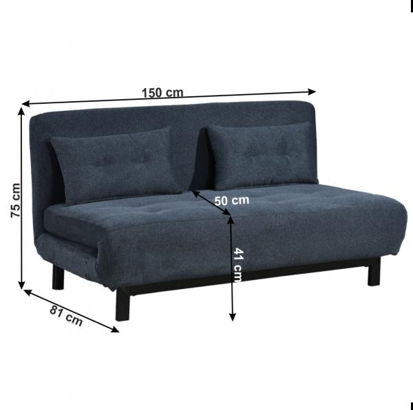 Canapea extensibila tapitat BODENA [1]