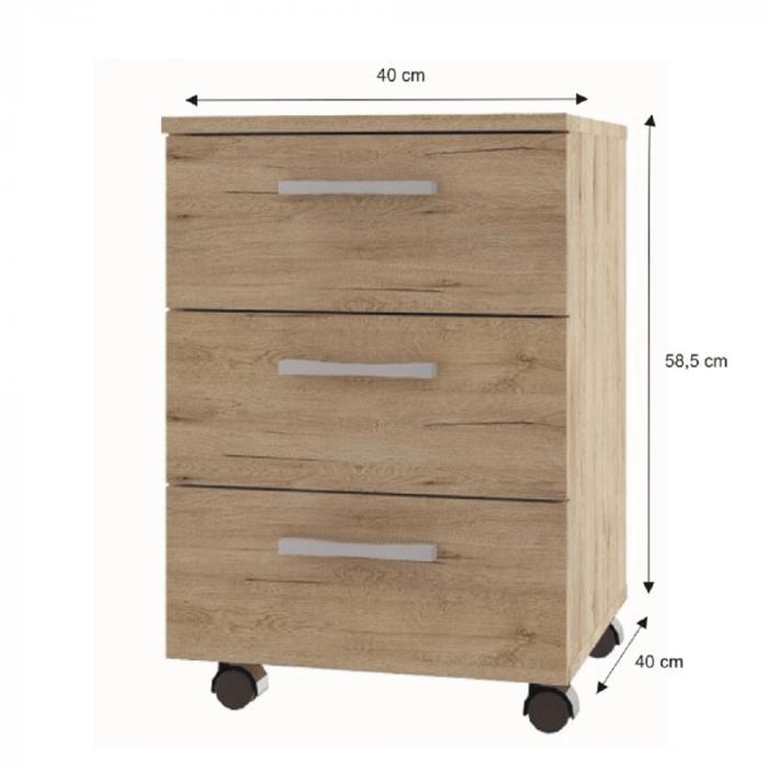 Dulap rollbox pentru birou ORESTES [2]