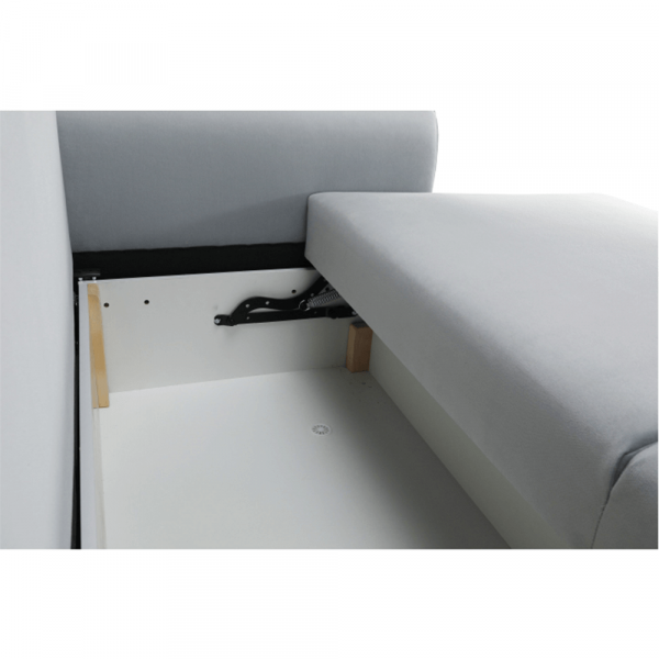 Canapea extensibila tapiterie gri deschis ARIANA 7