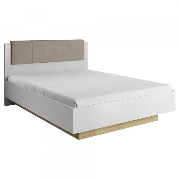 Set dormitor complet culoare alb/stejar CITY 1