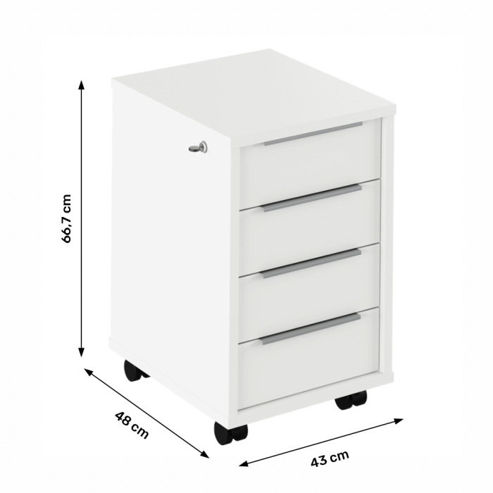 Dulap rollbox pentru birou RIOMA NEW TYPE 30 [1]