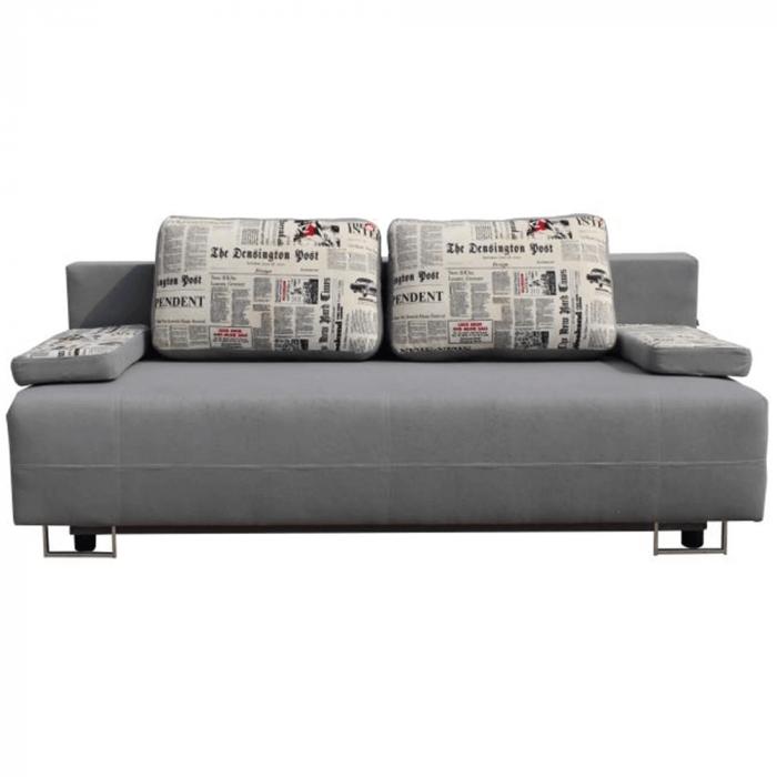 Canapea extensibila cu spatiu depozitare ELIZE 2