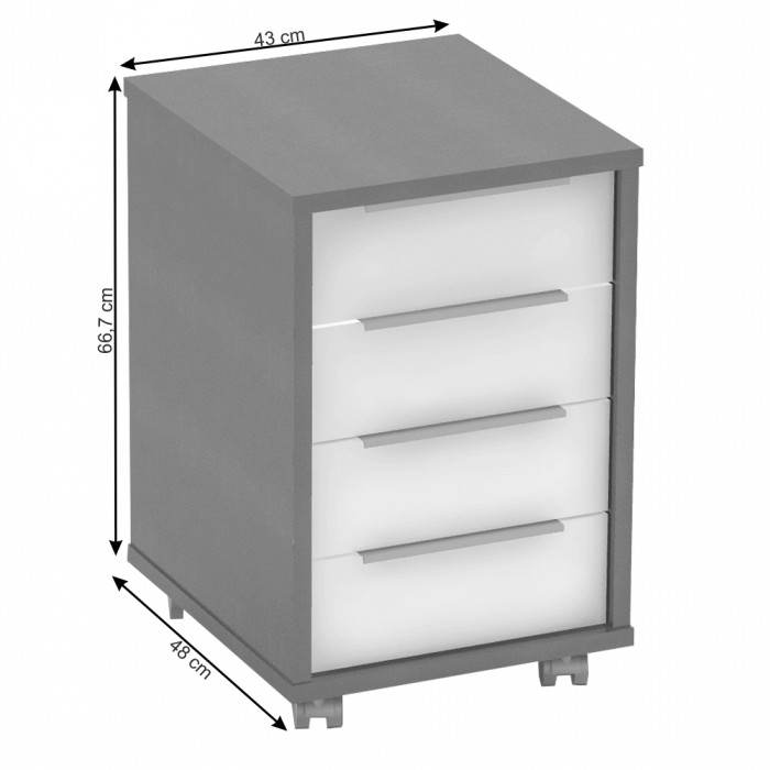 Dulap rollbox pentru birou RIOMA NEW TYP 14 [1]