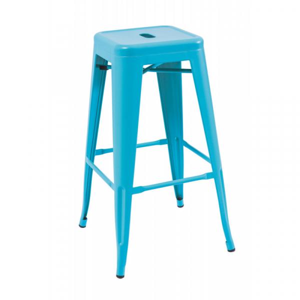 Scaun Bar SL Long albastru 0