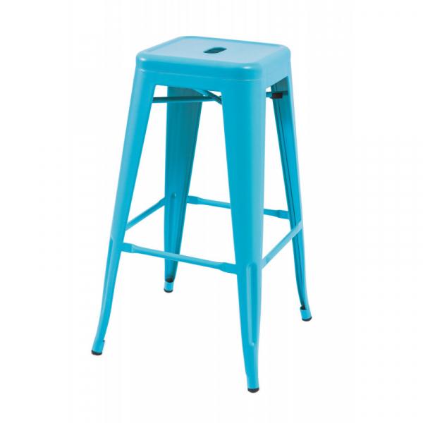 Scaun Bar SL Long albastru 1