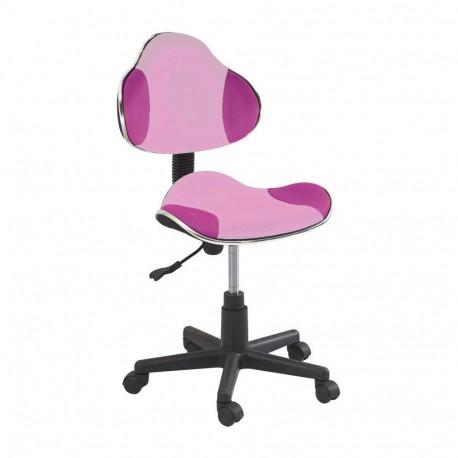 Scaun birou copii SL QG2 roz 0