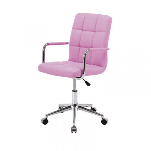 Scaun birou copii SL Q022 roz 0