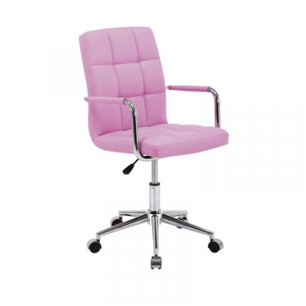 Scaun birou copii SL Q022 roz 1